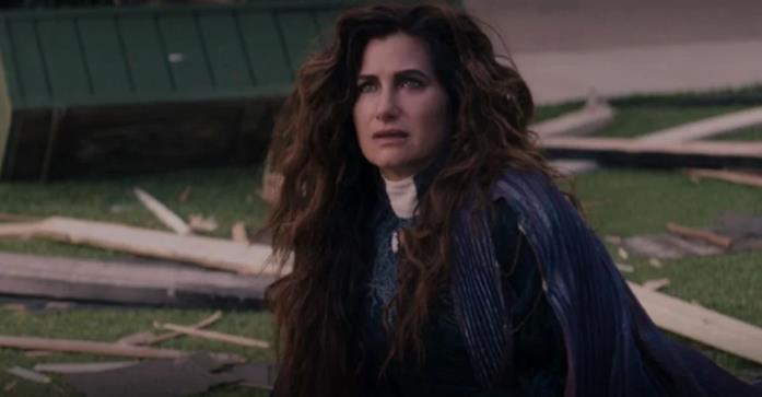 Agatha Harkness nell'ultimo episodio di WandaVision