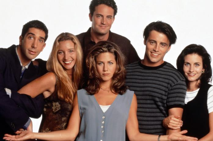 I protagonisti di Friends in una immagine promozionale