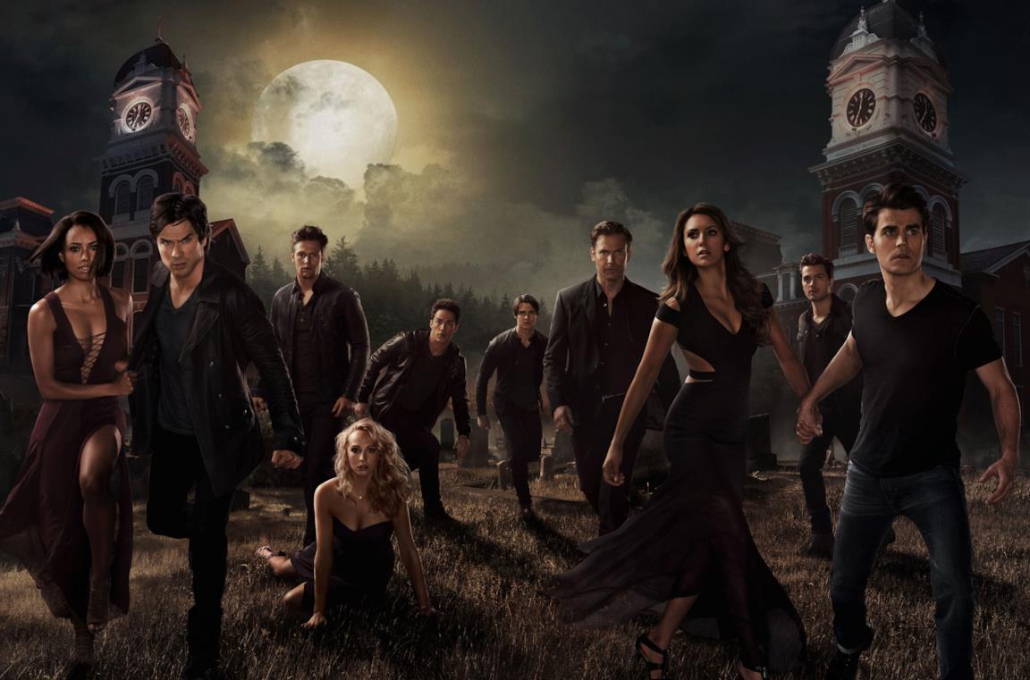 Il poster promozionale della sesta stagione di The Vampire Diaries