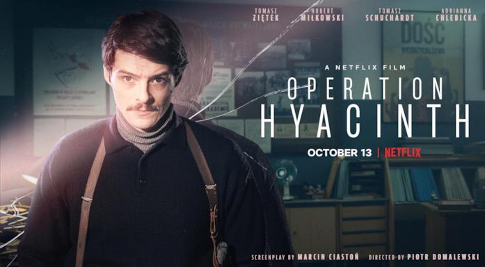 Il poster del film Operation Hyacinth