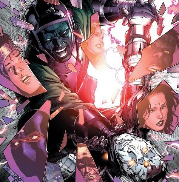 Dettaglio della cover di Young Avengers #5