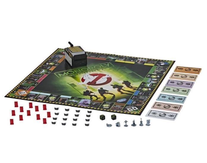 Il tabellone di gioco del Monopoly dei Ghostbusters