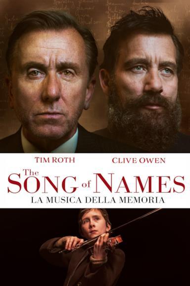 Poster The Song of Names - La musica della memoria