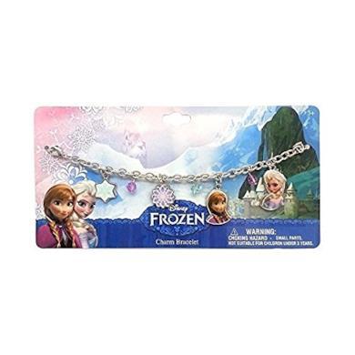 Bracciale Elsa E Anna Frozen Disney Bigiotteria In Metallo Con Charm WD92101