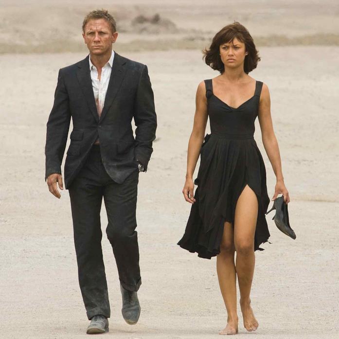 James Bond e Camille