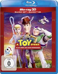 Toy Story 4 -  3D Blu Ray