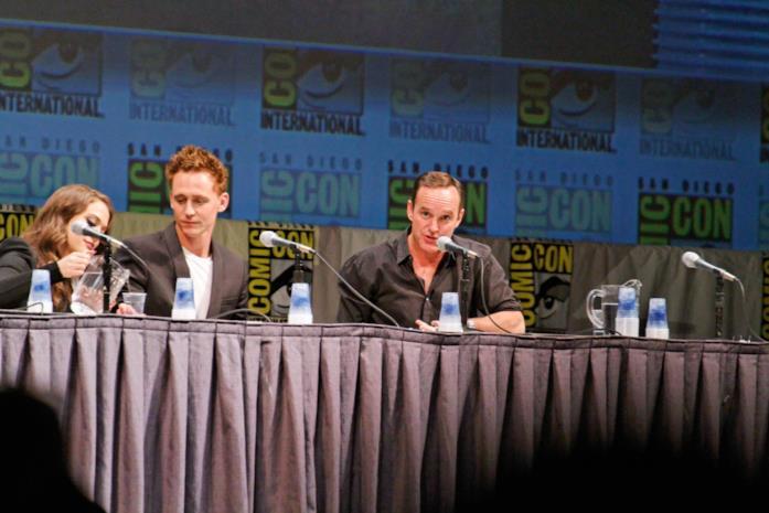 Tom Hiddleston è apparso al panel di Thor al San Diego Comic-Con 2010