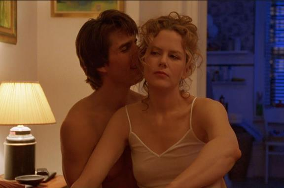Una scena di Eyes Wide Shut