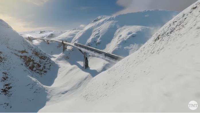 Una scena di Snowpiercer serie