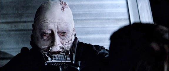 Immagine di Darth Vader senza maschera