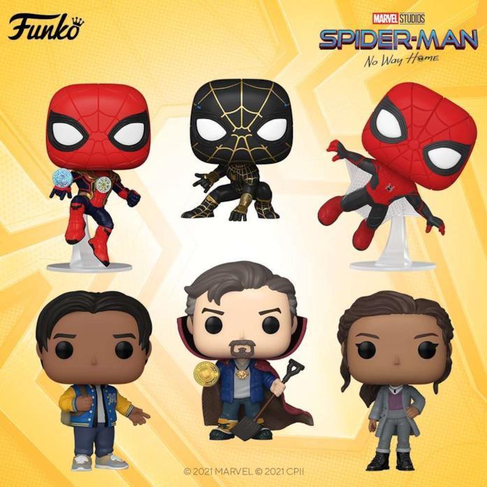 6 nuovi Funko Pop! dal film Spider-Man: No Way Home