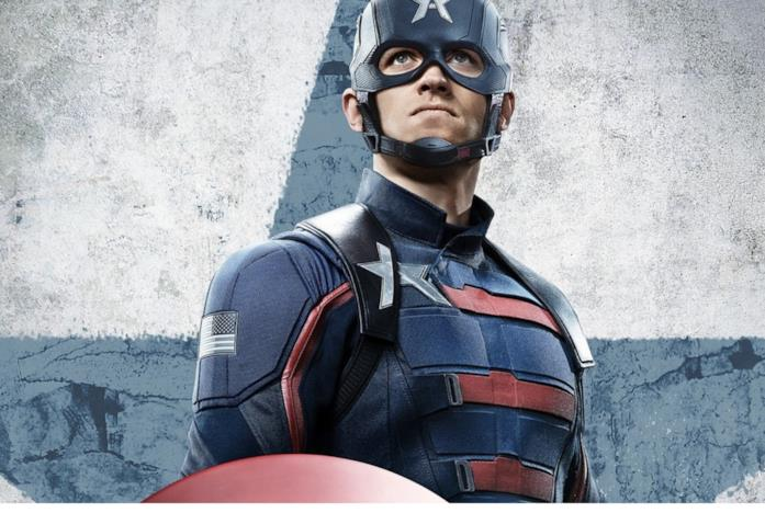 John Walker nel ruolo di Cap