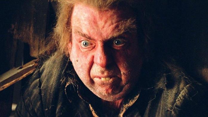 Peter Minus in una scena di Harry Potter e il prigioniero di Azkaban