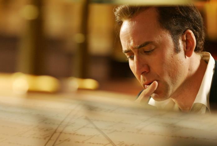 Un'immagine di Nicolas Cage ne Il Mistero dei Templari