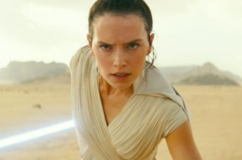 Una scena di Star Wars: The rise of Skywalker