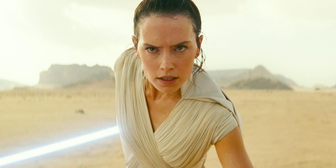 Una scena di Star Wars: The rise of Skywalker