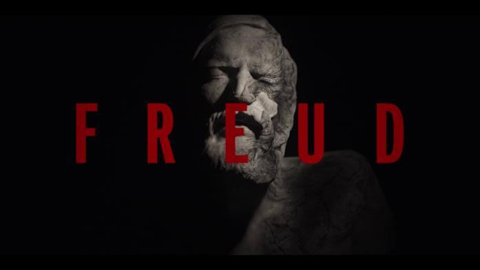 La testa di Freud nella sigla dell'episodio 6 ha un'espressione sofferente e sembra consumata dalle intemperie