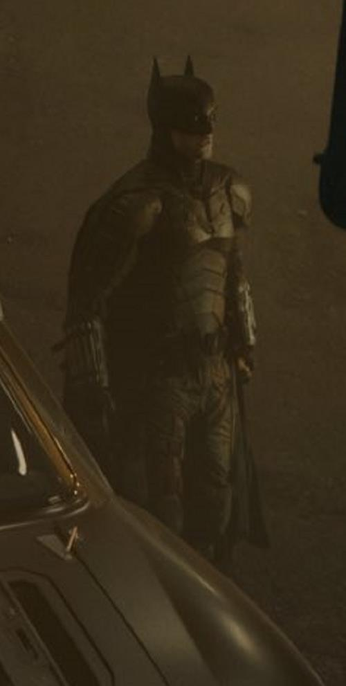 Robert Pattinson/Batman in una foto condivisa da Matt Reeves