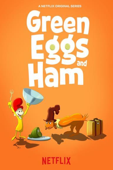 Poster Prosciutto e uova verdi