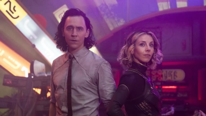Loki e Sylvie nel terzo episodio