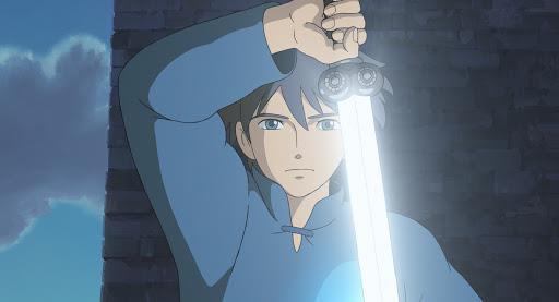 Arren riesce a sfilare la spada per sconfiggere Aracne