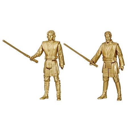 Star Wars Skywalker Saga action figure in scala 3,75 pollici di Obi-Wan Kenobi e Anakin Skywalker