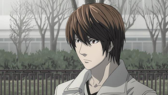 Light Yagami, protagonista di Death Note