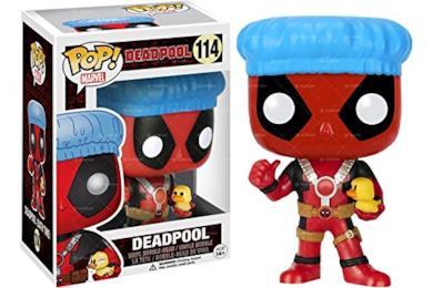 Marvel Pop! Deadpool Shower cap & Ducky - Statuetta in Vinile
