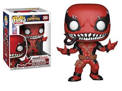 Funko- Pop Venompool Games: Marvel Contest of Champions Figurina, Multicolore, 9 cm, 26710