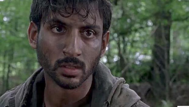 Siddiq, uno dei nuovi personaggi di The Walking Dead