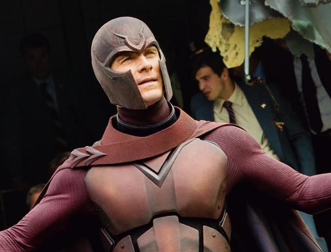 Michael Fassbender nei panni di Magneto in X-Men: Giorni di un futuro passato