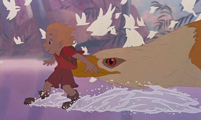 Una scena del film Bianca e Bernie nella terra dei canguri