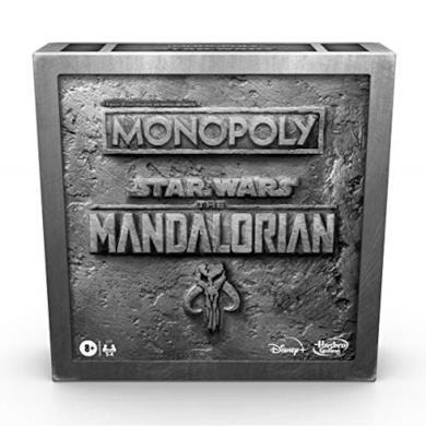 Hasbro Monopoly Star Wars The Mandalorian (Gioco in scatola ispirato alla serie tv The Mandalorian)