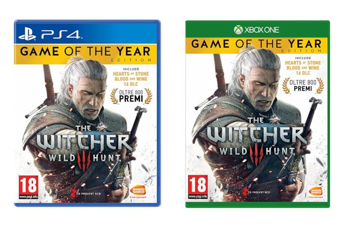 The Witcher 3 - GOTY Edition per PS4 e Xbox One