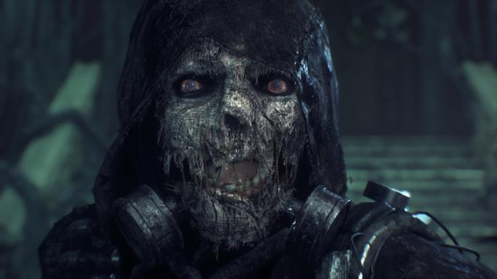 Un'immagine di Scarecrow nel videogioco Batman: Arkham Knight