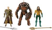 Aquaman Orm e Brine King 3 Personaggi Articolati dal Film con 14 Punti di Articolazione, Giocattolo per Bambini 3 + Anni, 14 cm FWX38