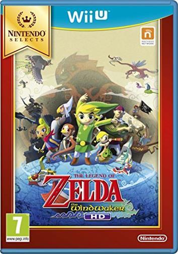 The Legend of Zelda: Wind Waker HD Select (Nintendo Wii U) [Edizione: Regno Unito]