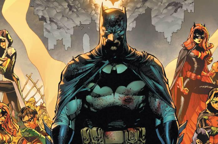 La cover di Batman numero 85, di Tom King