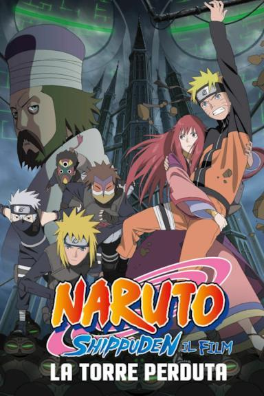Poster Naruto Shippuden il film: La torre perduta