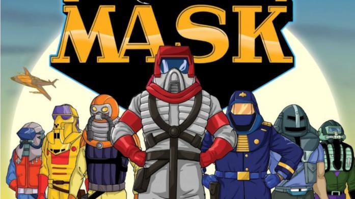 Una immagine della serie TV animata di M.A.S.K.