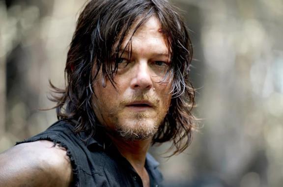 Norman Reedus nei panni di Daryl Dixon in The Walking Dead