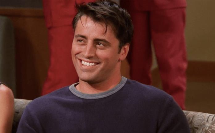 Matt LeBlanc sorride in Friends