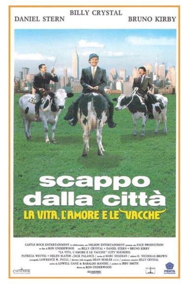 Poster Scappo dalla città - La vita, l'amore e le vacche