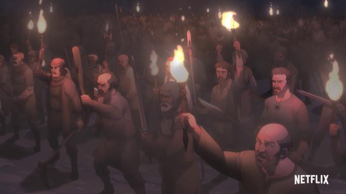 Kaer Morhen è sotto assedio nel trailer di The Witcher: Nightmare of the Wolf