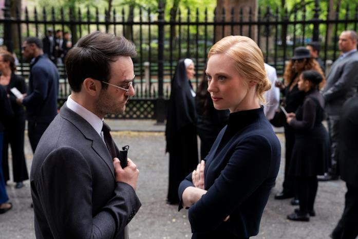 Matt Murdock e Karen Page in Daredevil 3