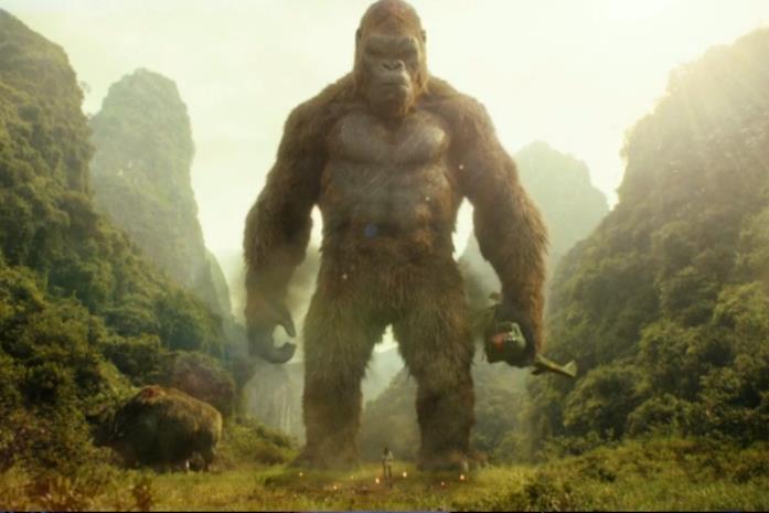 Skull Island: King Kong in uno dei poster del film