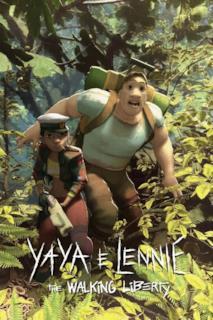 Poster Yaya e Lennie - The Walking Liberty