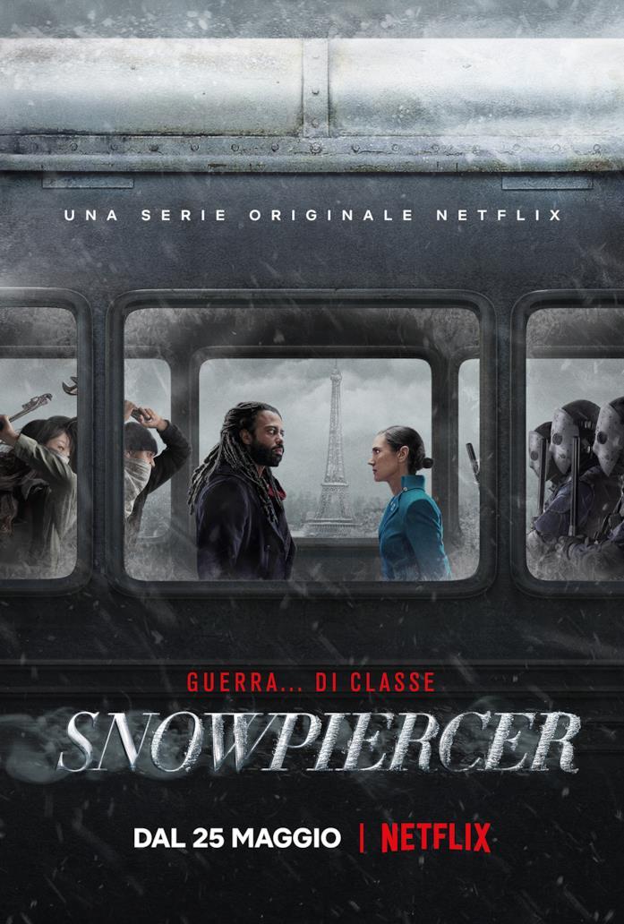 Jennifer Connelly e Daveed Diggs faccia a faccia sullo Snowpiercer