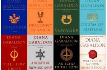 I libri di Diana Gabaldon della saga di Outlander