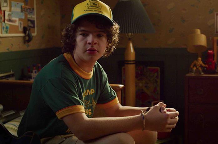 Dustin in Stranger Things 3